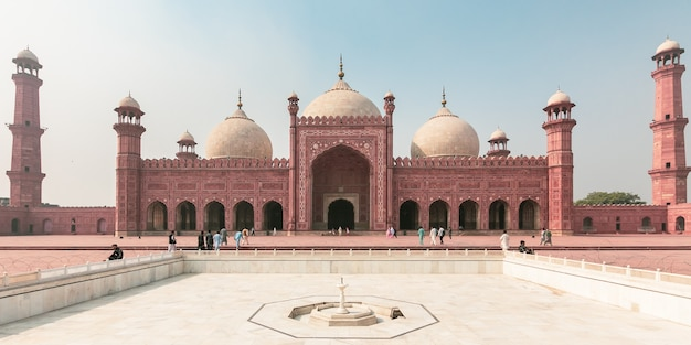 Lahore, pakistan mosquée badshahi