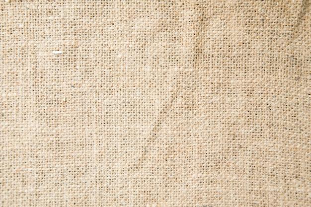 Laine marron tricotée à fond.