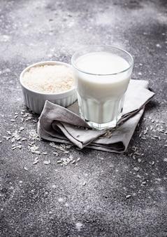 Lait de riz sans lactose