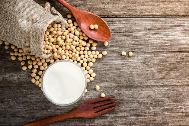 Lait de soja pour la santé