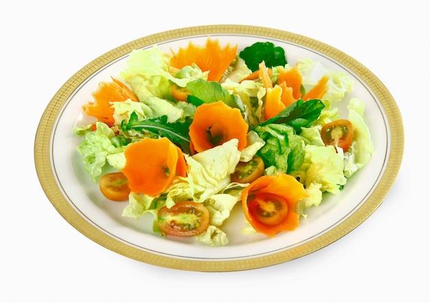Laitue et carotte