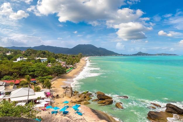 Lamai beach sur l'île de koh samui