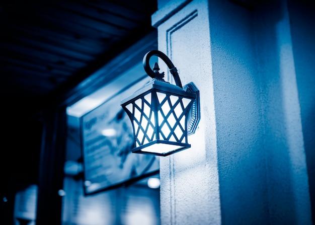 Lampe antique street