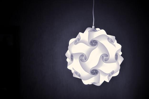 Lampe design moderne sombre