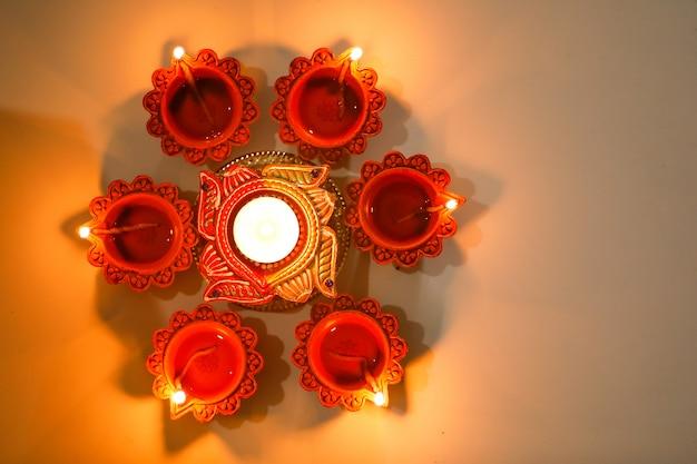 Lampe diwali élégante