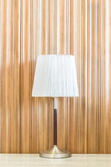 Lampe d'éclairage avec espace de copie sur le mur