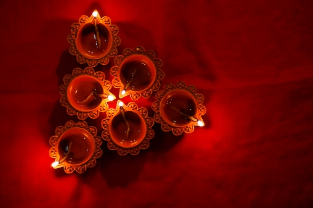 Lampe indienne diwali