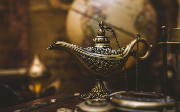 Lampe magique d'aladdin