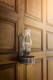 Lampe à pétrole vintage