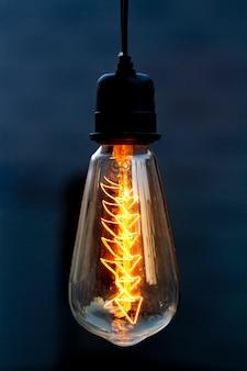 Lampe de style vintage, éclairage décor