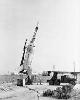 Lance-fusée nasa pad joe lancement peu