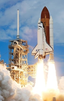 Lancer le décollage fusée nasa voyage
