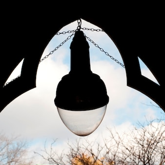 Lanterne à boston, massachusetts, usa