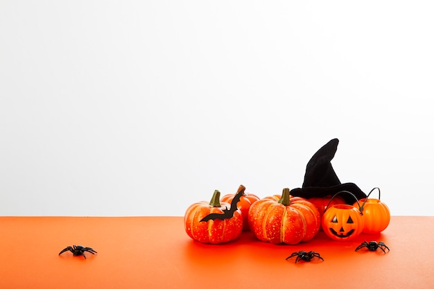 Lanterne citrouille halloween orange