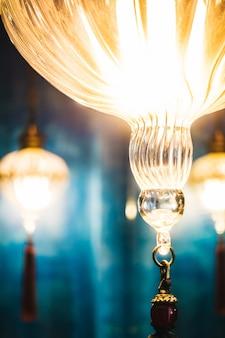 Lanterne rouge lanternes ornées maroc