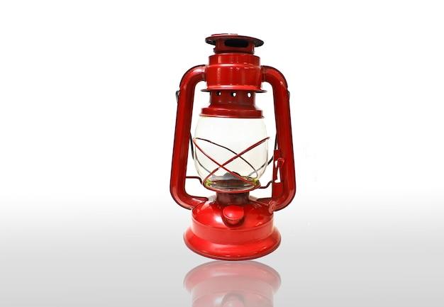 Lanterne rouge vif