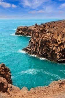 Lanzarote los hervideros comme de l'eau bouillante