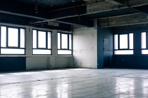 Large espace de travail ouvert