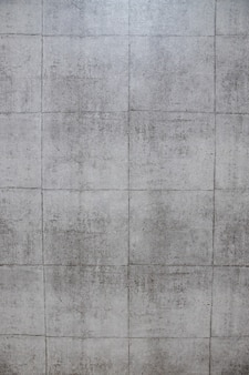 Large mur de briques grises