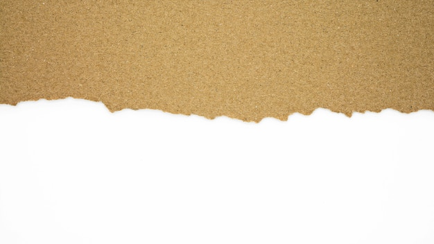 Larme de texture de papier recyclé brun