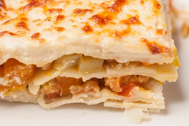Lasagne aux légumes au four