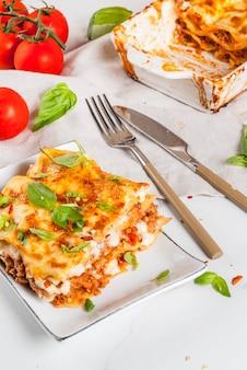 Lasagne bolognaise classique