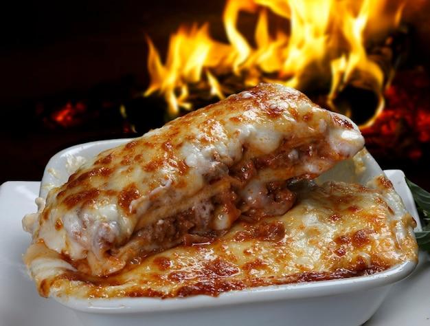Lasagnes rôties