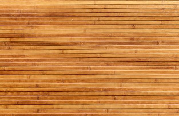 Lattes de bambou
