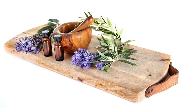 Lavande et huiles essentielles