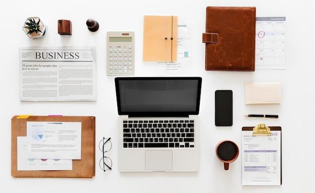 Lay plat du concept d'entreprise