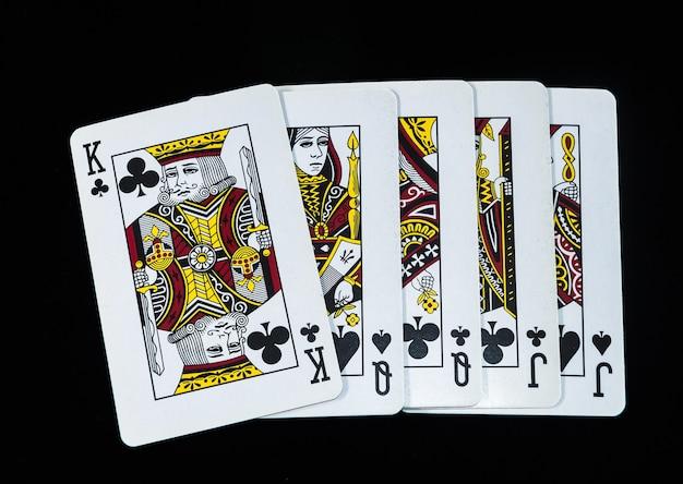 Leader des cartes de poker