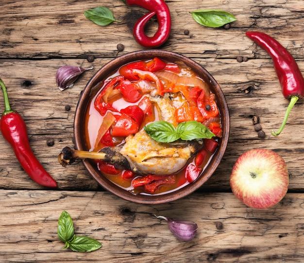 Lecso plat de la cuisine hongroise