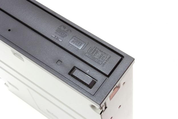 Lecteur dvd avec disque, ordinateur