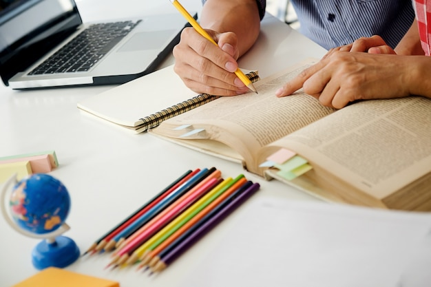 Lecture de livres informatiques idées de planification étudiants