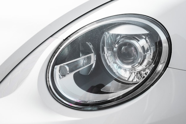 Led phare de blanc auto