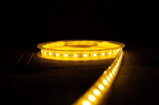 Led strip light brillant éclairage décoratif se bouchent.