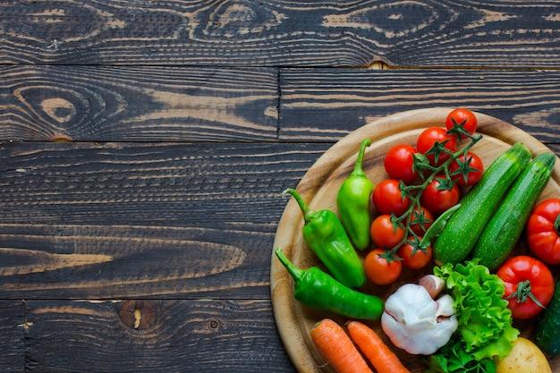 Légumes et aliments sains