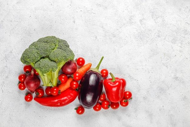 Légumes biologiques frais.