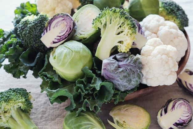Légumes crucifères, régime cétogène