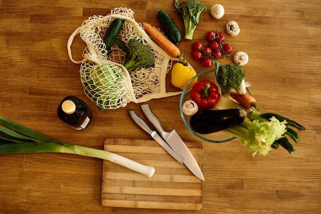 Légumes dans la cuisine