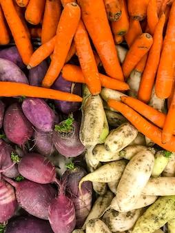 Légumes frais de ferme