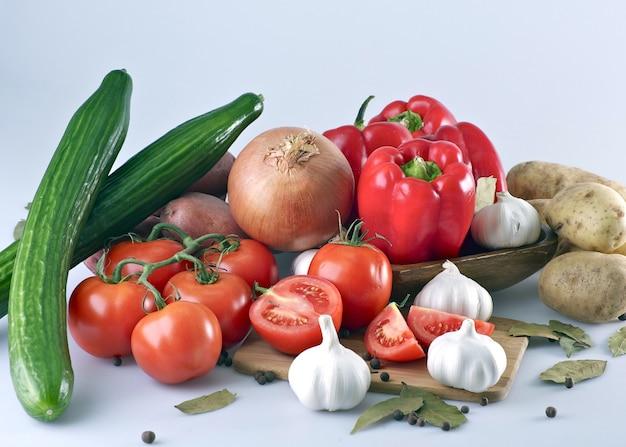 Légumes frais et organiques
