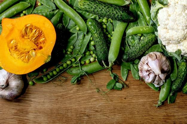 Légumes frais pour cuisiner