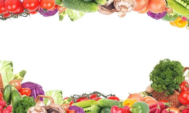Légumes Frais Photo Premium