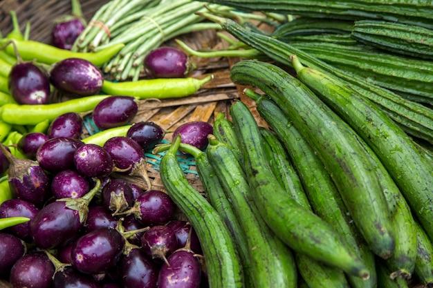 Légumes sur le marché de mumbai, en inde