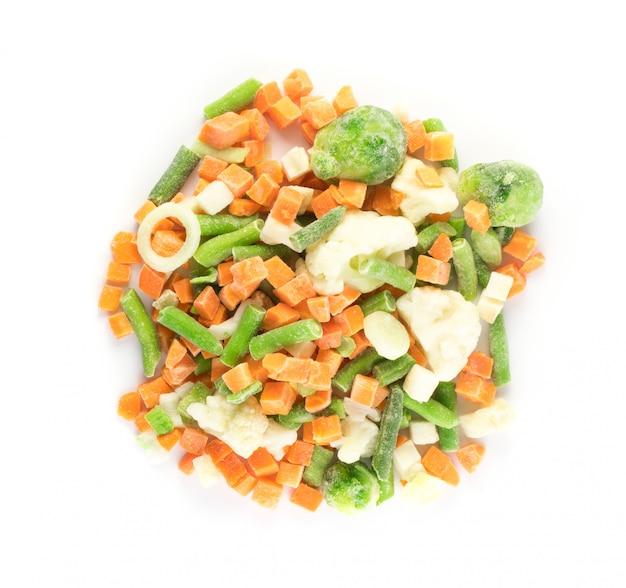 Légumes mélangés surgelés