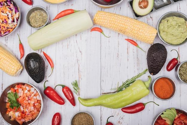 Légumes mexicains