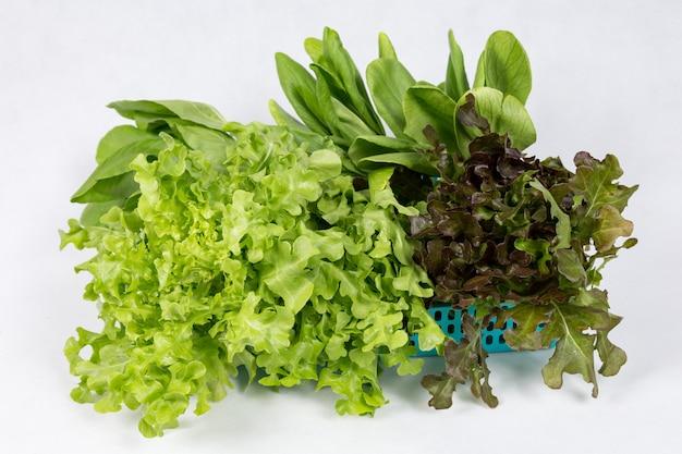 Légumes sur le panier