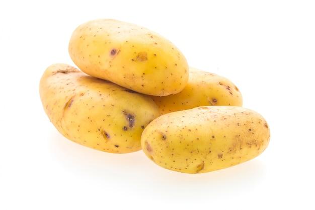 Légumes à la pomme de terre isolés