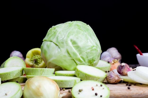 Légumes sales